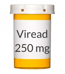 Viread 250mg Tablets - 30 Count Bottle