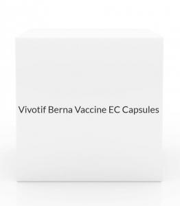 Vivotif Berna Vaccine EC Capsules - 4 Pack