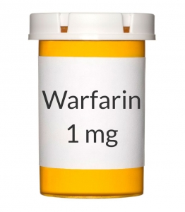 Warfarin 1mg Tablets