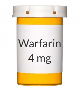 Warfarin 4mg Tablets