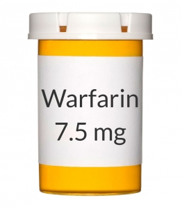 Warfarin 7.5mg Tablets