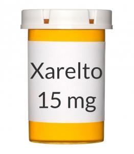 Xarelto 15mg Tablets