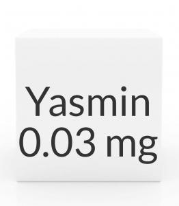 Yasmin 3-0.03mg- 28 Tablet Pack