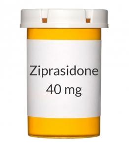 Ziprasidone 40 mg Capsules (Generic Geodon)