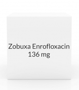 Zobuxa Enrofloxacin 136mg Flavored Tablets