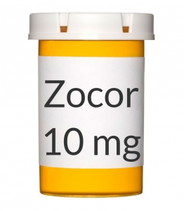 Zocor 10mg Tablets