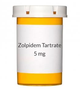 Zolpidem Tartrate 5mg Tablets