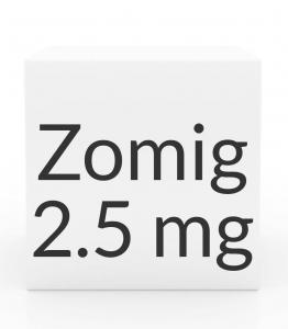 Zomig 2.5mg Nasal Spray- 6 Single-Use Spray Devices