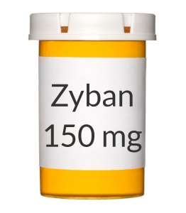 Zyban 150mg Tablets - 60 Count Bottle