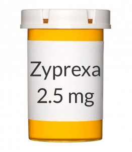 Zyprexa 2.5mg Tablets