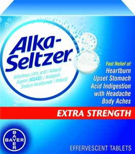 Alka-Seltzer Effervescent Tablets Extra Strength 24ct