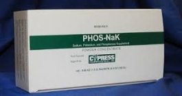 PHOS-NaK Powder Concentrate Supplement - 100 Packets