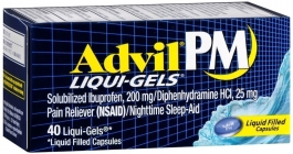 Advil PM Liqui-gel 40ct