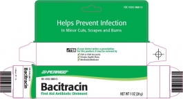 Bacitracin Ointment 0.9gm - 144 Packets