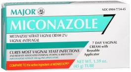 Miconazole 2% Vaginal Cream (Major) with Reusable Applicator - 1.59 oz