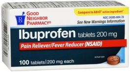 Good Neighbor Pharmacy Ibuprofen 200mg Tablet  100ct