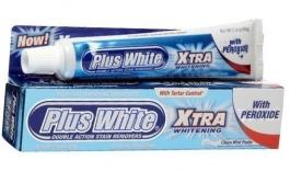 Plus White Whitening Toothpaste Xtra Whitening With Peroxide - 2oz
