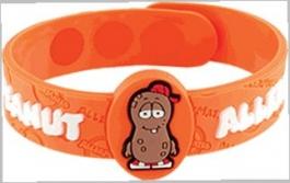 "AllerMates Peanut Allergy Alert Wristband - ""P. Nutty"""