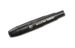 Accu-chek Softlix Lancing Device, Black