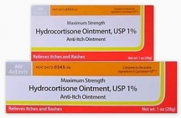 Actavis Hydrocortisone Ointment, 1%, Anti-Itch, Maximum Strength, 1oz