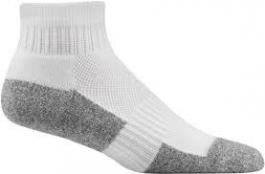Dr. Comfort Diabetic Ankle Socks, White, Medium- 1 pair