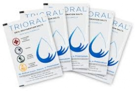Trioral Oral Rehydration Salts, 0.72g- 15 Packets