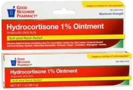 GNP Hydrocortisone 1% Ointment 1oz