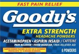 GOODY'S Extra Strength Headache Powder 6pk