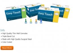 "EasyTouch Pen Needle 32 Gauge, 5/32"" - 50ct"