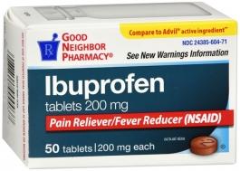 Good Neighbor Pharmacy Ibuprofen 200mg Tablet  50ct