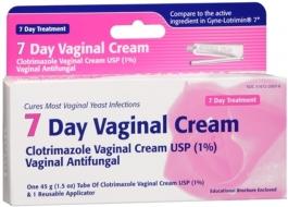 Taro Clotrimazole 7 Day Vaginal Antifungal Cream, 1.5 Oz