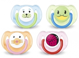 Philips AVENT BPA Free Animal Pacifier, 6-18 Months - 2ct