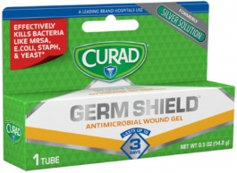 Curad - Silver Solution Antimicrobial Gel 0.50 oz