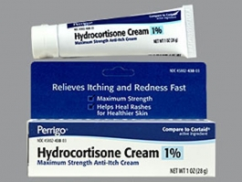 Hydrocortisone 1% Cream (Perrigo)-30g