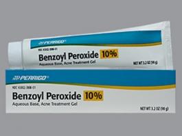 Benzoyl Peroxide 10% Gel 90g Tube(Perrigo)