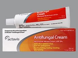 Miconazole Nitrate 2% Cream (Actavis) - 1.5 oz