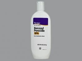 Perrigo Benzoyl Peroxide Acne Wash 10 8oz
