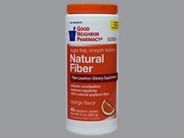 GNP® Fiber Natural Powder Smooth, Orange- 20.3oz