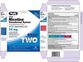 Nicotine Transdermal System Step 2(Generic) - 14mg/24HR Patch 14ct