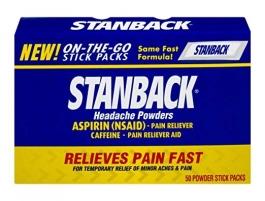 Stanback Headache Powder, 50 Ct