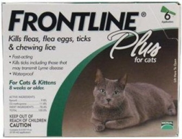 Frontline Plus for Cats - 6 Month Pack