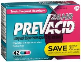 Prevacid 24 Hour - 42 Capsules