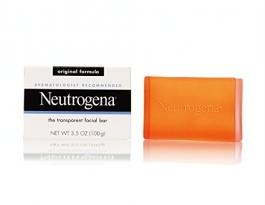 Neutrogena Transparent Facial Bar Original Face Wash & Cleanser - 3.5 oz