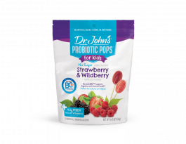 Dr. John's® Healthy Sweets™ Probiotic Pops Strawberry and Wildberry 15 ct