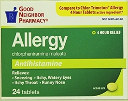 GNP® 4mg Allergy Tablets- 24ct