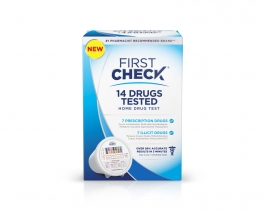 First Check Home 17 Drug Test , 1 test