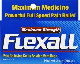 Flexall Maximum Strength Pain Relieving Gel - 3oz