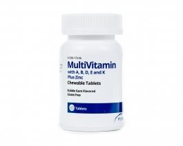 Multivitamin ABDEKs 60 Ct Chewable Tablets