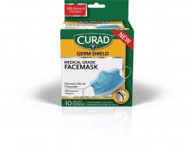 Curad Germshield Medical Grade Facemask 10ct