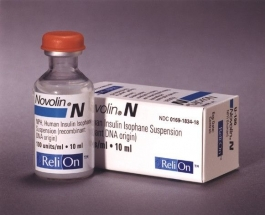 Novolin N Insulin 100U/mL - 10mL Vial